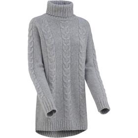 Kari Traa Lid Pull en tricot Femme, grey melange